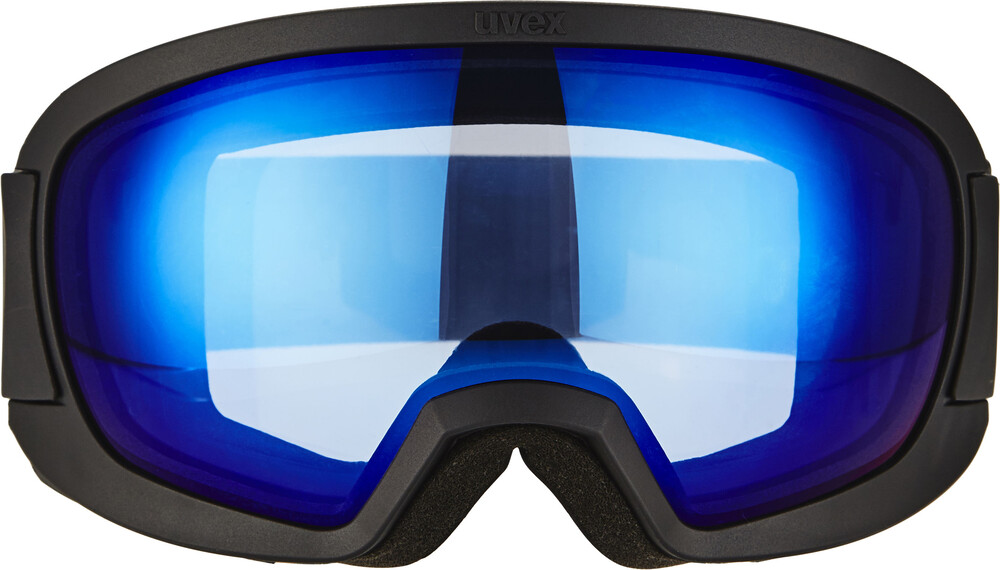 UVEX Contest FM Goggle Black Mat DL/Blue-Clear 2017 Goggles